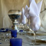 Decorations at the Reception