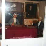 Signers of Declaration of Independence (wax figures)
