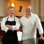 Hosts Chef partner Shaun Clouston and Steve Logan