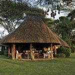 Lewa House - veranda