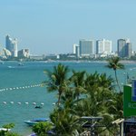 North Pattaya from hotel roof