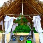 nipa beach hut