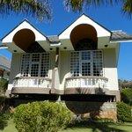 Duplex cottages have thin walls
