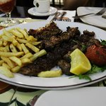mix kebab plate. its more than enough for two