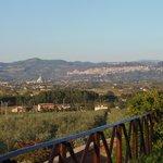 panorama con Assisi sullo sfondo