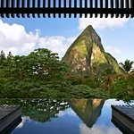 Infinity Pool and the view of Piton