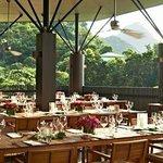 Wedding Breakfast in the Boucan Restaurant