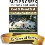 BUTLER CREEK HOT TUBS AND SUITES B&B   25 YEARS