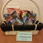 Complimentary snacks