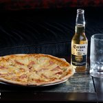 Gourmet Pizza with Ice cold Beer !