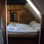 Obäddad säng...