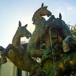 Sculpture/fountain on the street