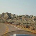 Riding around the Badlands