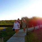 Natural walkway to beach