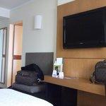 La habitación classic tiene tv con cable y baño completo.