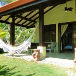 The veranda with hammock