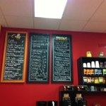 Jan 2013 menu (doesn't show coffee options)
