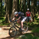 Mountainbiker am Wurmberg