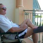 relax sur notre balcon