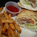 Steak Wrap with Fries