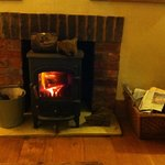 wonderful wood burner in