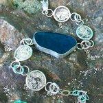 Sand and Sea Glass Bracelet