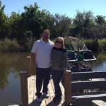 us next to airboat
