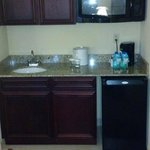 Wet Bar Inside the Room