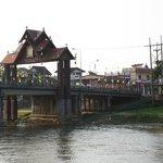 Aussicht auf die Brücke