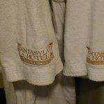 The bath robes