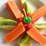 Combinacion Frutas Tropicales para una buena Dijestion.