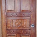 Beautiful carved doors.