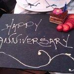 anniversary cake !