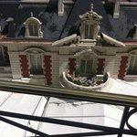 Poolseite zur Maison vom Hotelzimmer aus - Baustelle