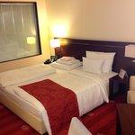 Hotelzimmer: Modern, zweckmäßig, sauber