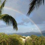 Rainbow view from unit 5w  balcony