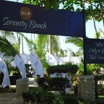 Serenity Beach Entrance!