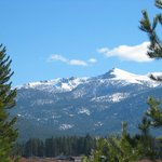 View of Sierra Nevada Mountains from Highway 50