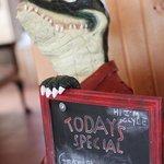 Clyde the Crocodile :-)