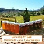 Homemade Serendipity B&B Jams & Marmalades