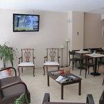 Reception/Waiting Area/Breakfast room