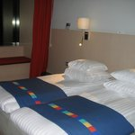 Hotel Park Inn. Twin room.