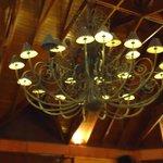 Huge chandelier in the lobby!