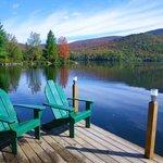 Photo de Prospect Point Cottages - Blue Mountain Lake