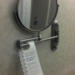 Wyndham Garden Exton bathroom mirror