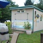Wyndham Garden Exton tiki hut