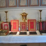 A collection of rare altar missals
