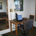 Desk & Sofa (in mirror)