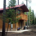 Nestled in the Flathead National Forest