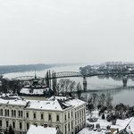 Vista dalla Basilica sul Danubio
